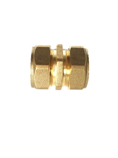Reusable Brass Straight Connector 2025 x 2025
