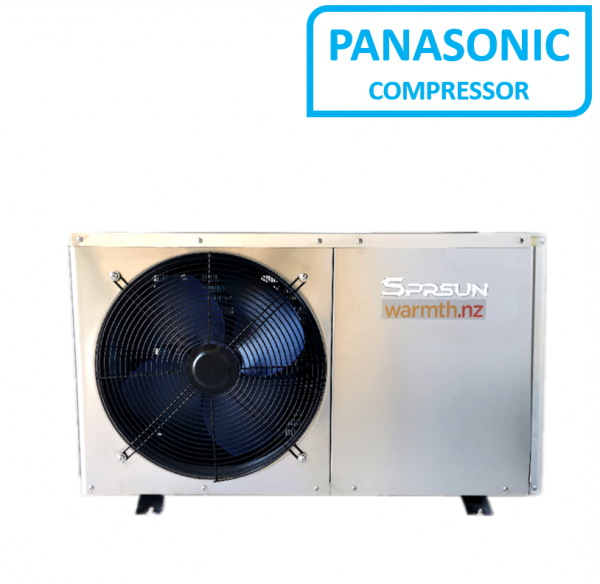 SPRSUN CGKS 9SSHC/H Air-to-water Heat Pump with Stainless Steel Case
